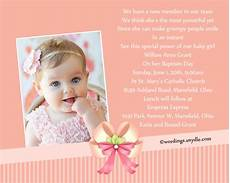 Catholic Baptismal Invitations Baptism Invitation Wording Samples Wordings And Messages