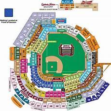 Arbor Stadium Seating Chart Busch Stadium St Louis Cardinals Ballpark Ballparks Of