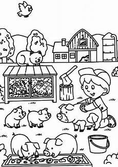 Malvorlage Bauernhof Kostenlos Bauernhof 19 Ausmalbilder Kostenlos