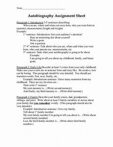 Auto Biography Outline Auto Biography Outline Template Business