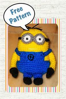 despicable me minion crochet pattern free snacksies