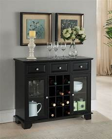 brand buffet server sideboard cabinet with wine
