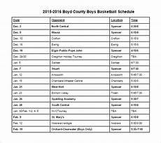Free Basketball Schedule Maker 13 Basketball Schedule Templates Amp Samples Doc Pdf