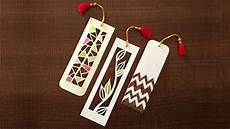 Make A Bookmarker How To Make Bookmarks Paper Cutting Art Youtube