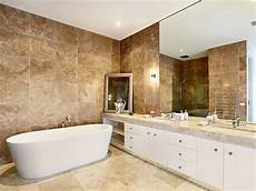 Travertine Bathrooms Brown Noce Travertine Slab For Bathroom Fulei