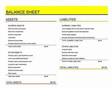 Balance Seet 38 Free Balance Sheet Templates Amp Examples ᐅ Templatelab