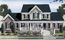 lovely two story home plan 39122st architectural