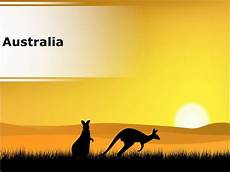 Australian Presentation Australia Powerpoint Country