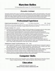 Examples Of Administrative Skills Sample Resumes Administrative Assistant Resume Or