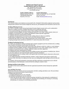 Event Planner Contract Templates Event Planner Contract Template Enkzllvg Party Planning