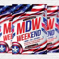 Memorial Day Flyer Memorial Day Weekend Premium Flyer Template Instagram