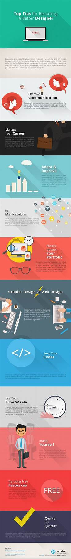 Better Designer Top Tips For Becoming A Better Designer Visual Ly