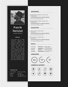 Download A Free Cv Template 10 Fresh Free Resume Cv Design Templates 2018 In Word
