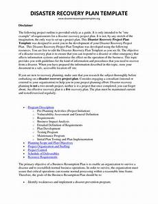 Disaster Recovery Plan Template Disaster Recovery Plan Template Cyberuse