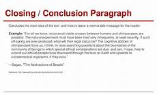 Example Of A Conclusion Paragraph For An Essay Argumentative Essay Conclusion Paragraph Example Essay