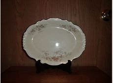 HOMER LAUGHLIN CHINA VIRGINIA ROSE PATTERN HLC 3858 1 OVAL