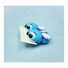 pendientes de stitch exclusivo hecho a mano arcilla