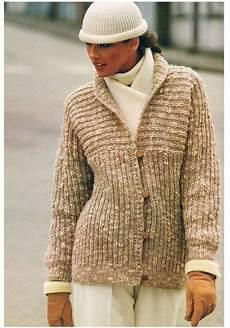 knitting pattern easy to knit jacket vintage