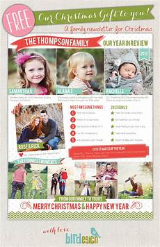 Christmas Family Newsletter Templates Free 50 Free Holiday Photo Card Templates Moritz Fine Designs