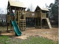 Playset Designs Playset Fort Plans Home Gt Gt Walkway Bridge Amp Swing Set