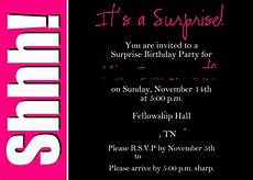 Free Surprise Birthday Party Invitations 40th Surprise Birthday Party Invitations 40th Birthday