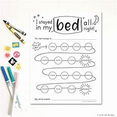 Stay In Bed Chart Printable Stay In Bed Reward Chart Printable Download Hand Etsy