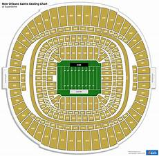 Saints Virtual Seating Chart Superdome Section 113 New Orleans Saints Rateyourseats Com
