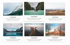Gallery Template Freebie 3 Amazing Bootstrap 4 Gallery Templates