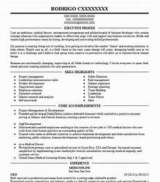 Resume Self Description Online Seller And Buyer Resume Example Self Employed