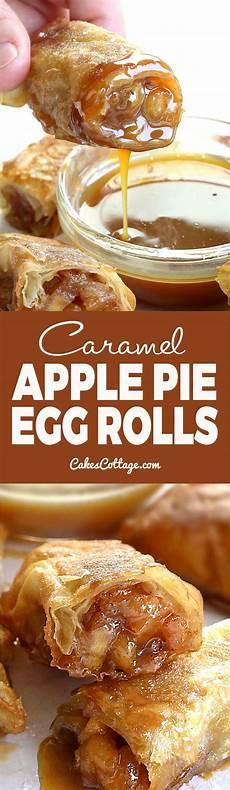 apple pie egg rolls cakescottage