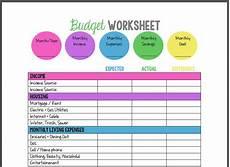 Simple Budgeting Tool Free Printable Budget Template Budgeting Worksheets