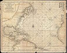 Antique Charts File 1683 Mortier Map Of North America The West Indies