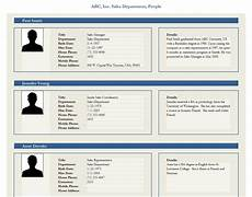 Profile Templates Employee Profile Template Employee Profile Form Template