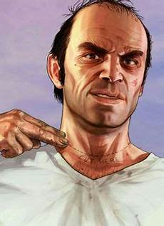 really enjoyed drawing trevor from gta 5 such a great