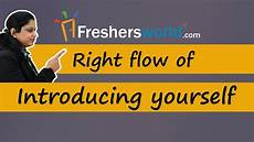 Introduction For Interview Right Flow Of Introducing Yourself Effective Interview