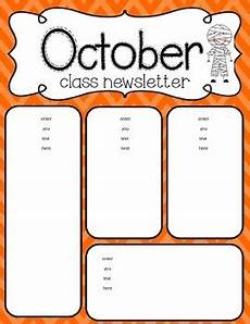 Newsletter Borders October Newsletter Freebie By Simply Delightful In Second