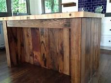 reclaimed wood kitchen island reclaimed wood marcelleguilbeau