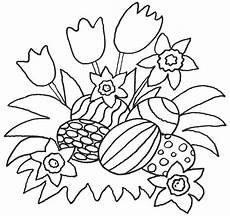 Malvorlagen Ostereier Ideen Ausmalbild Ostern Kostenlose Malvorlage Blumen Und