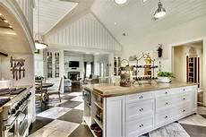 allow room for dining with a large kitchen islands