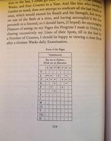 Benjamin Franklin Virtues Chart Benjamin Franklin And Judaism Journal Of The American