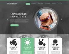 Webtemplate Psd The Modernist Free Psd Website Template Psd Templates