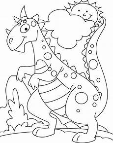 Dinasor Coloring Dinosaur Coloring Pages For Kids