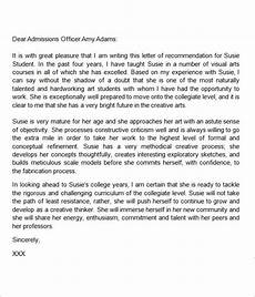 Letter Of Recommendation Format For A Friend 9 Recommendation Letters In Doc Download For Free Sample