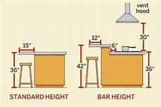 how high is a kitchen island for efficient flow leave between 42 and 48 inches 106 68