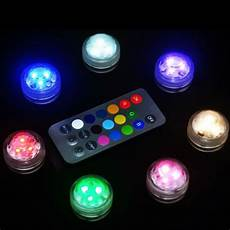 Under Table Led Lights 12 Pieces Lot Flower Design 3cm Underwater Table Glass