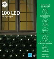 Ge Energy Smart Led Net Lights Ge Energy Smart 100 Led Warm White Mini Net Lights Green