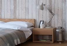 parete rivestita in legno arredare la da letto di design speciale in stili