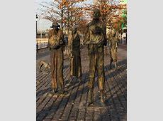 Famine Memorial, Dublin, Ireland   Stunning art memorial