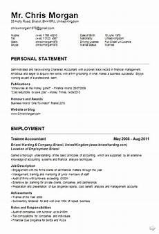 Curriculum Vitae Example Curriculum Vitae Cv Samples Fotolip