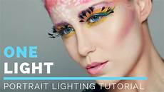 Lighting Tutorial Portrait Photography Lighting Tutorial One Light Set Up